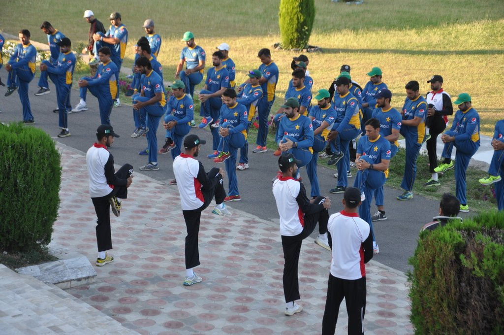15  players at the boot camp at Kakul Military Academy fail to reach the required fitness levels