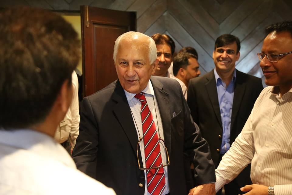 Farewell ceremony held for outgoing PCB Chairman Shahryar Khan at Gaddafi Stadium