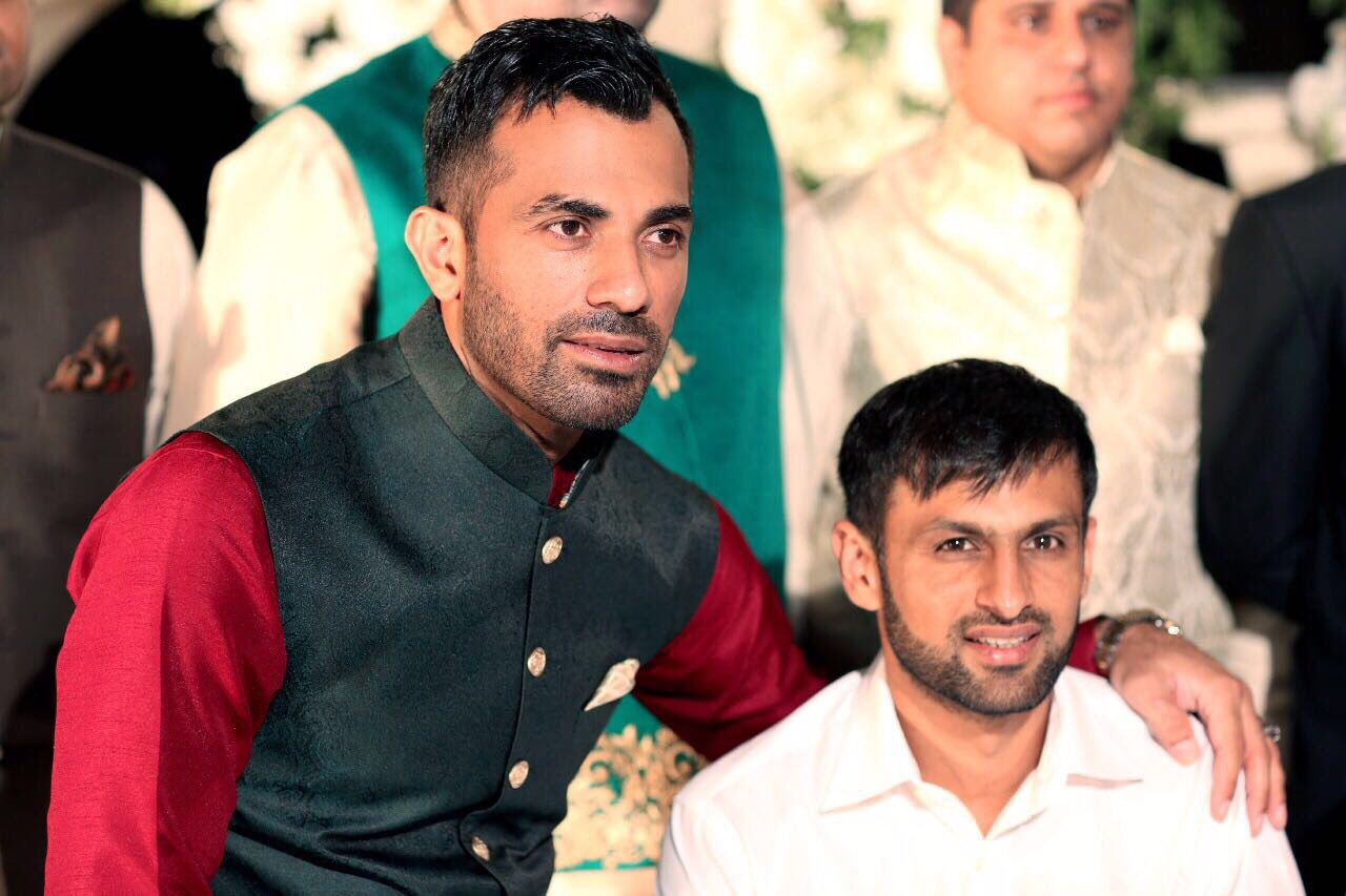 PICTURES Pakistan Cricketers At Wahab Riazs Brothers Wedding