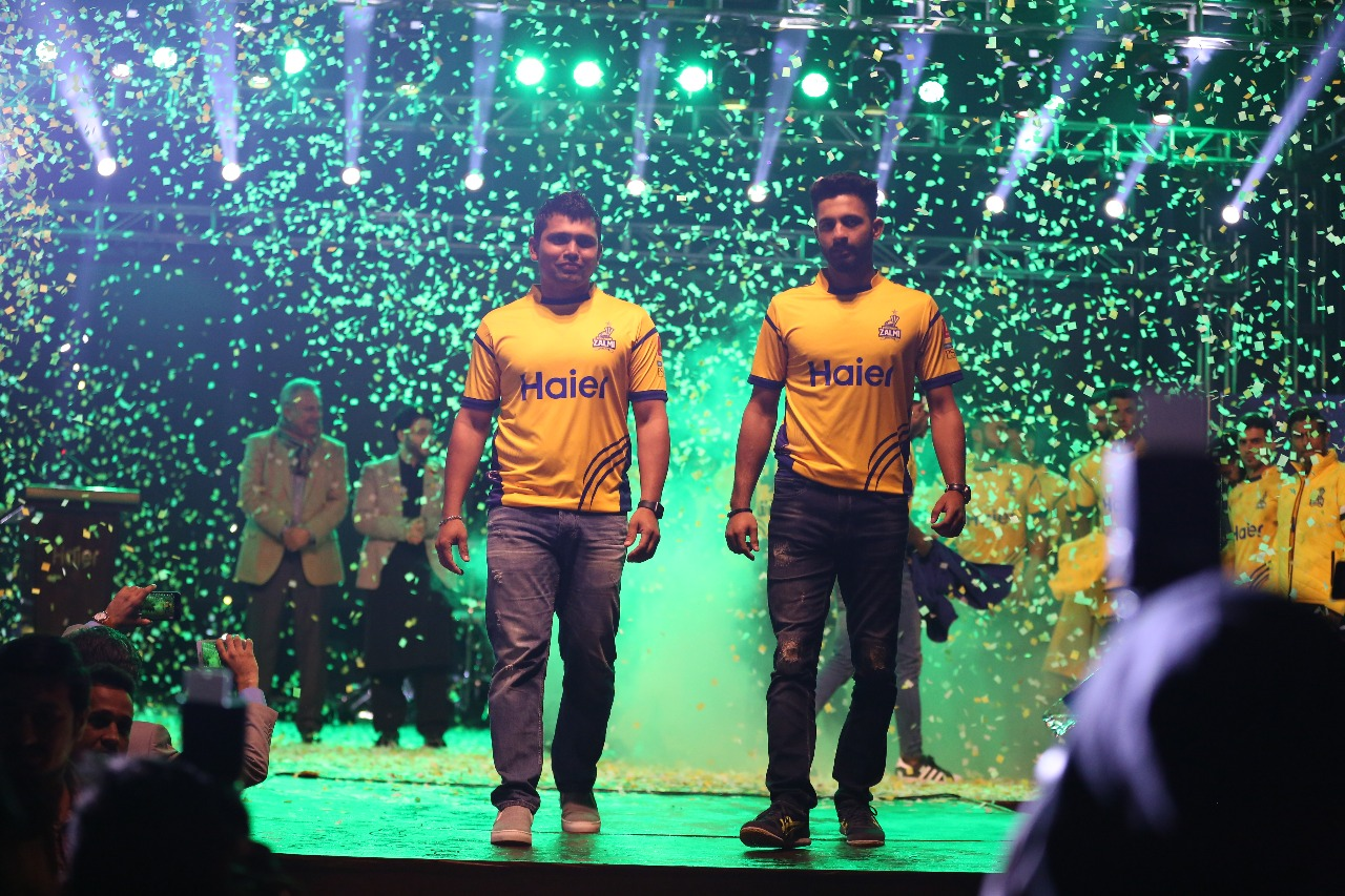Defending champions Peshawar Zalmi launch kit for 2018 Pakistan Super League