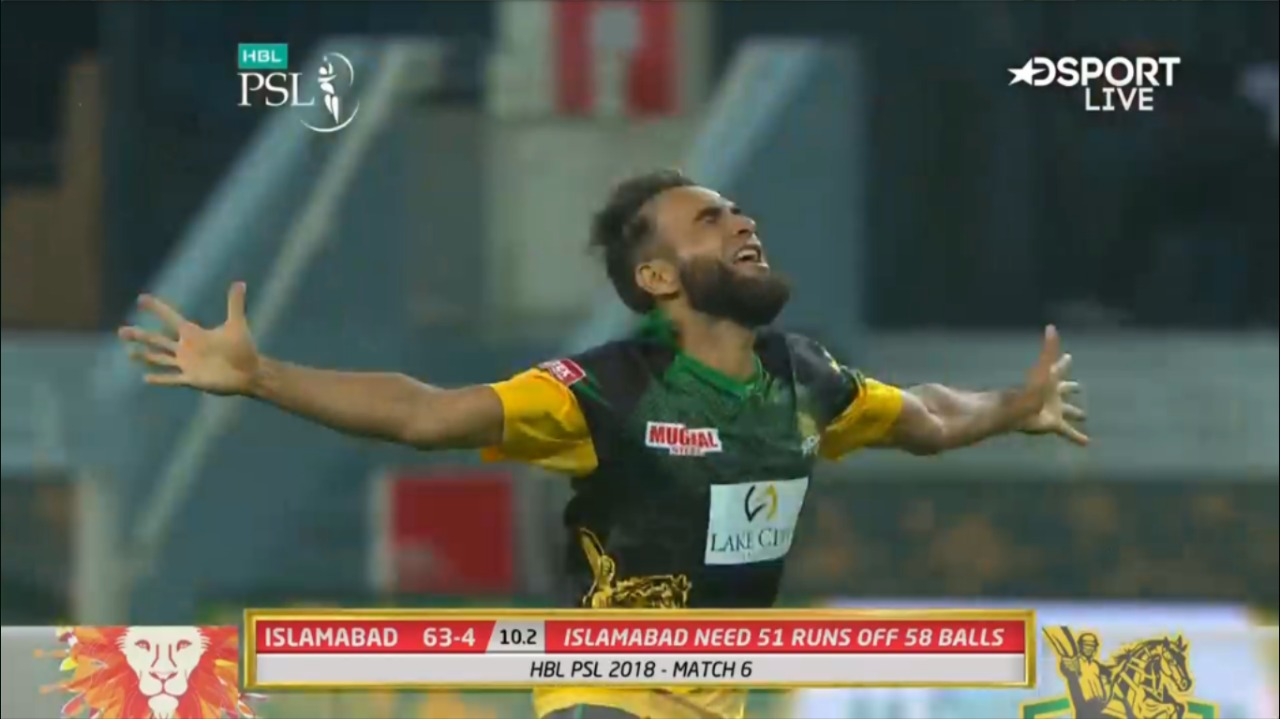 Imran Tahir takes 3 wickets  as Islamabad United lose 5 wickets in their chase of 114 to win