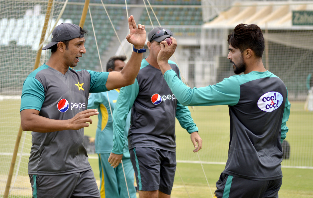 Training Camp for Pakistan's Test tour of Ireland and England continues in Lahore