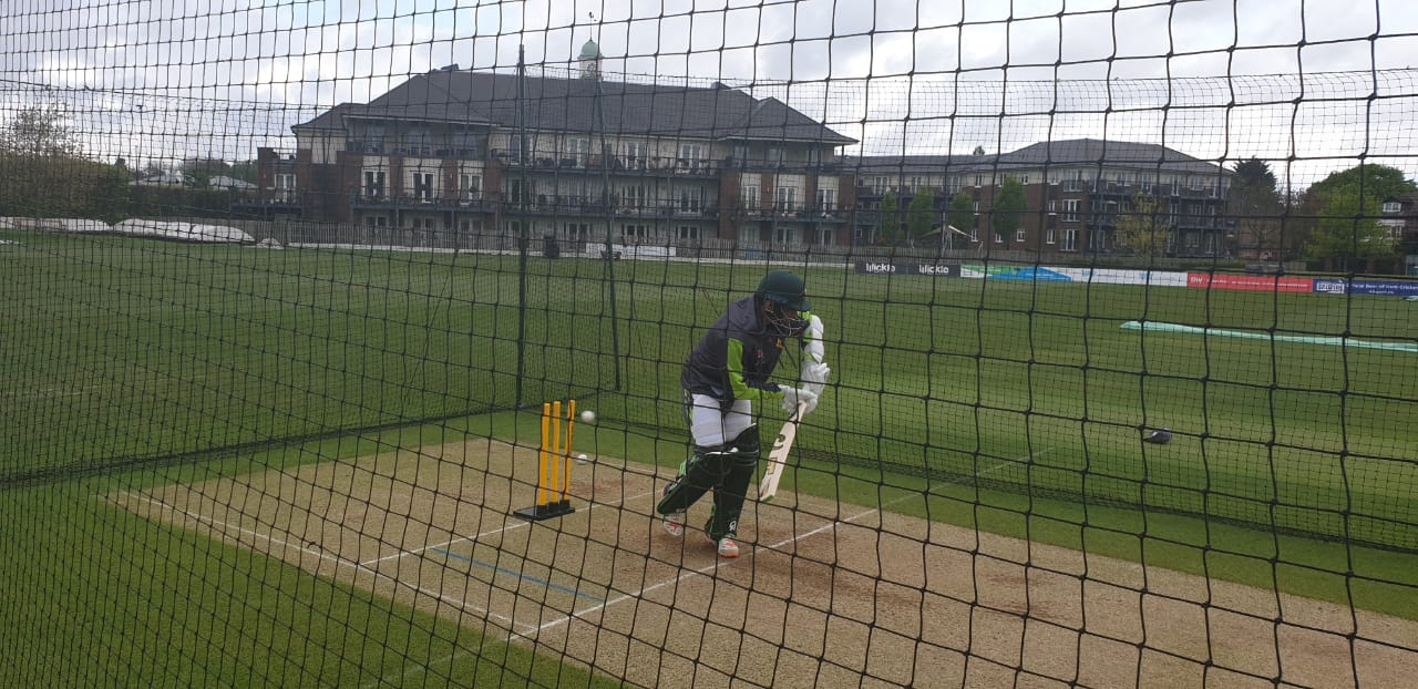 Pakistan squad trains in Kent ahead of LOI series against England