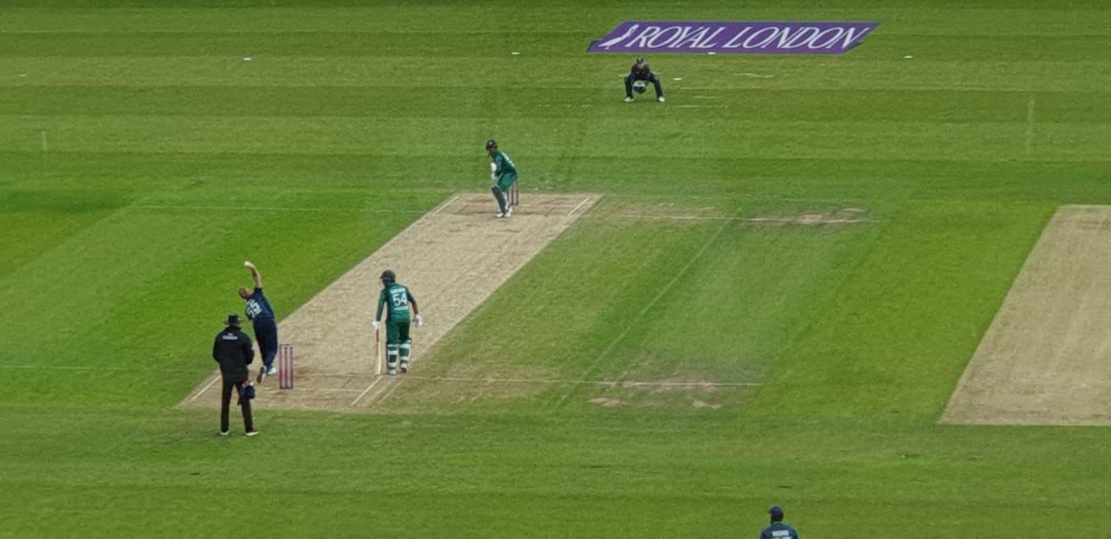 Pictures from the 5th ODI between England and Pakistan