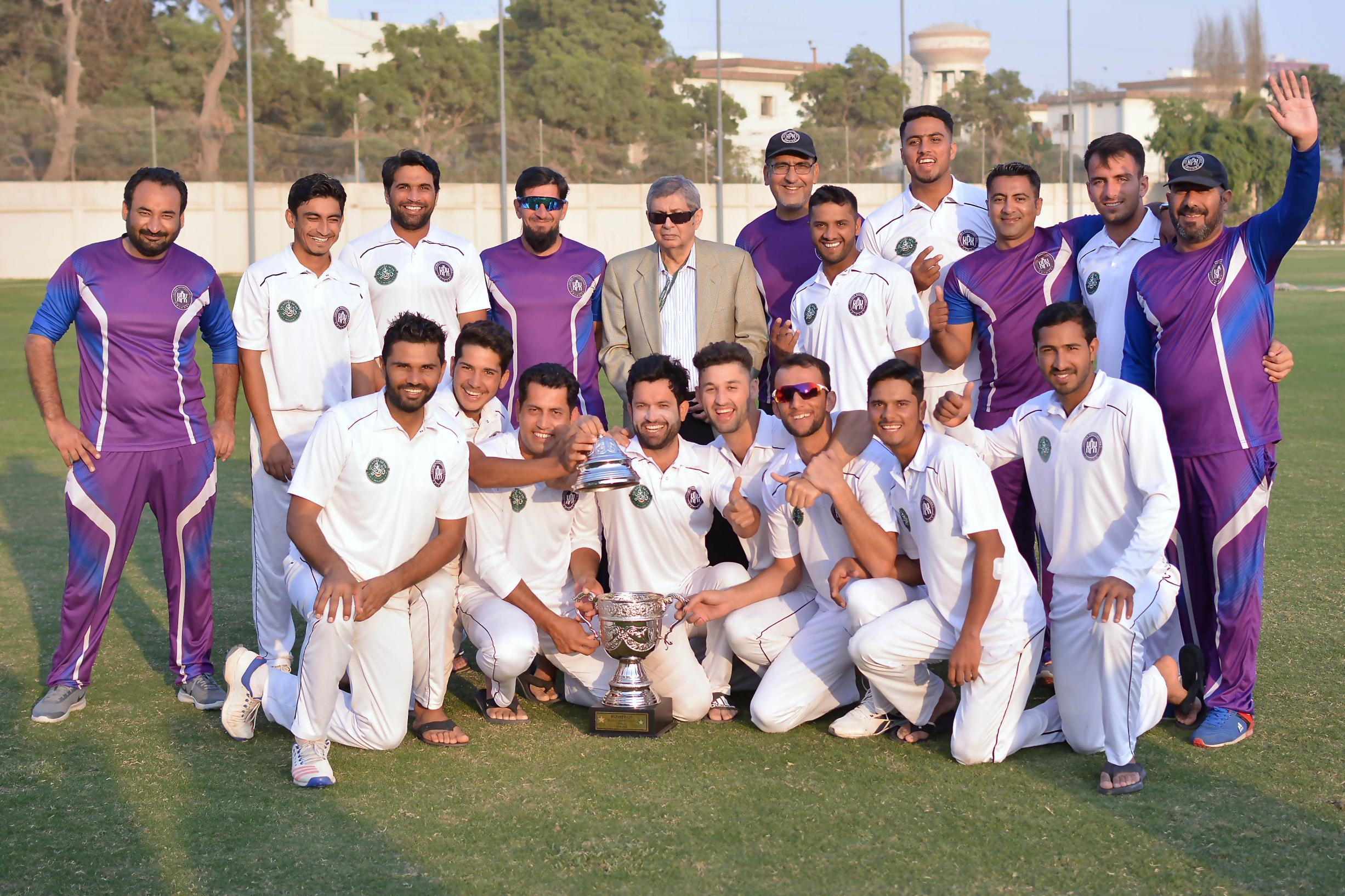 Name:  Khyber Pakhtunkhwa runners-up of the Quaid-e-Azam Trophy 2nd XI Tournament 2019 in a group photo.jpg Views: 60 Size:  568.7 KB