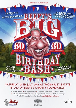 Beefy's big birthday bash